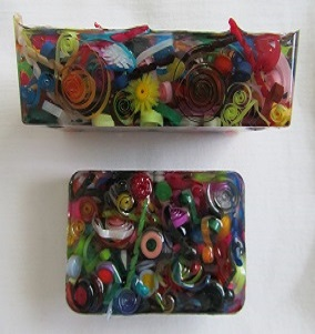 Quilled Block 2 Resin