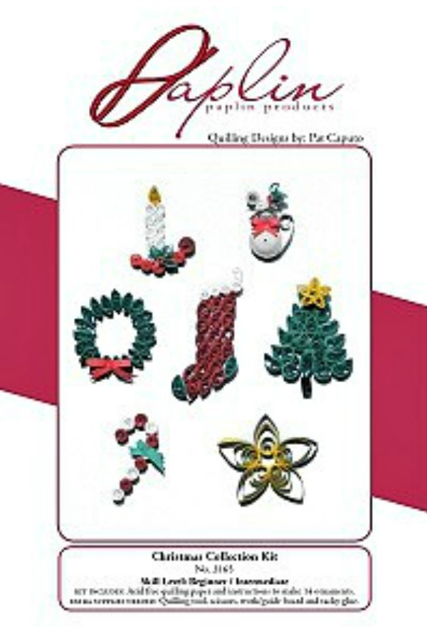 Christmas Ornament Quilling Kit