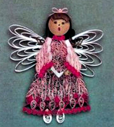 Christmas Angels Quilling Kit
