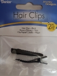 Hair Clips Black