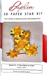 Gold 3D Star Kit