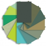 Shades of Green Accessory Paper