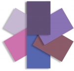 Shades of Purple Accessory Paper