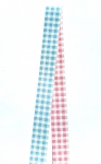 Blue / Pink Gingham Moravian Star Pack